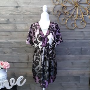 Motherhood Maternity Floral Tunic Top